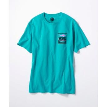 MAUI & Sons バックロゴプリントTシャツ メンズ グリーン