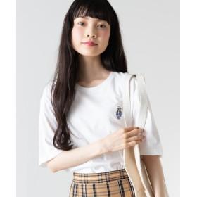 Tシャツ - WEGO【WOMEN】 ベアワンポイントシシュウTシャツ(S) WE19SM06-M1533