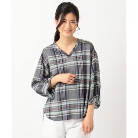 【ジユウク/自由区】 ポルトガル RIOPELE Vネックシャツ(検索番号E59)