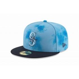 【ニューエラ公式】 59FIFTY 2019 MLB ファザーズデイ オンフィールド シアトル・マリナーズ メンズ レディース 7 1/4 (57.7cm) MLB キャップ 帽子 12073073 NEW ERA