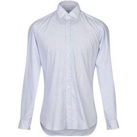 《セール開催中》MASTAI FERRETTI メンズ シャツ ホワイト 38 コットン 100%
