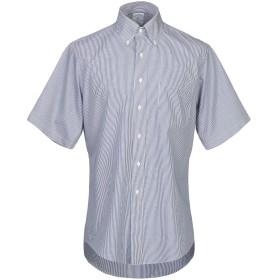 《セール開催中》BROOKS BROTHERS メンズ シャツ ダークブルー 14 コットン 100%