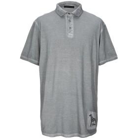 《期間限定セール開催中!》TRUSSARDI JEANS メンズ ポロシャツ グレー XS コットン 100%