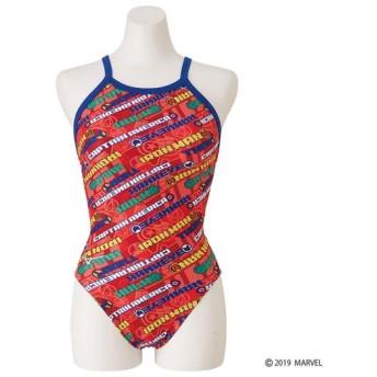 MIZUNO SHOP [ミズノ公式オンラインショップ] 競泳練習用【MARVEL】ミディアムカット[ジュニア] 62 レッド N2MA9991