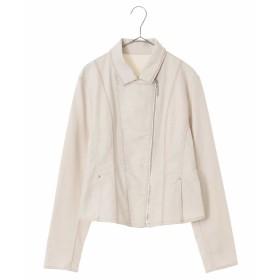 HIROKO BIS 【洗濯機で洗える】デニム刺繍ジャケット その他 フォーマル,ホワイト