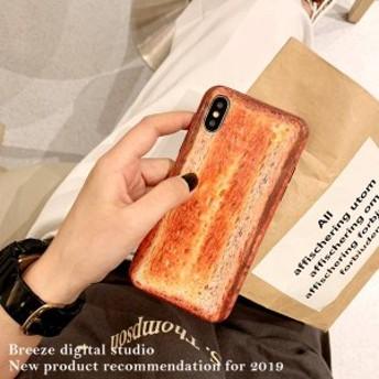 2019新作スマホケース iPhoneXs iPhoneX iPhone XR iPhoneXs MAXケース 全機種対応スマホケース可愛い焼きパン柄PhoneケースFB33