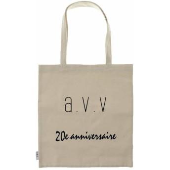 【20%OFF】 アー・ヴェ・ヴェ avv20THトートバッグ レディース ホワイト M 【a.v.v】 【セール開催中】
