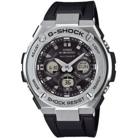 【G-SHOCK】G-STEEL(Gスチール) / GST-W310-1AJF / 電波ソーラー (ブラック×シルバー)
