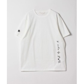 (agnes b./アニエスベー)WL84 TS ロゴビッグシルエットTシャツ/レディース ホワイト 送料無料