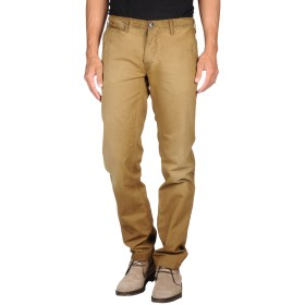 《9/20まで! 限定セール開催中》PEPE JEANS メンズ パンツ ミリタリーグリーン 36W-34L コットン 100%