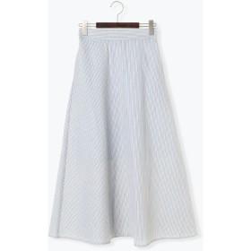 【5,000円以上お買物で送料無料】サッカーストライプAラインスカート