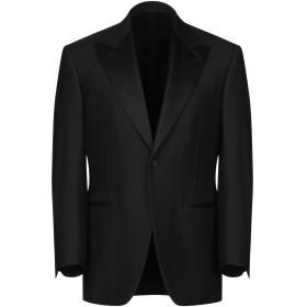 《期間限定 セール開催中》CANTARELLI メンズ テーラードジャケット ブラック 46 バージンウール 100%