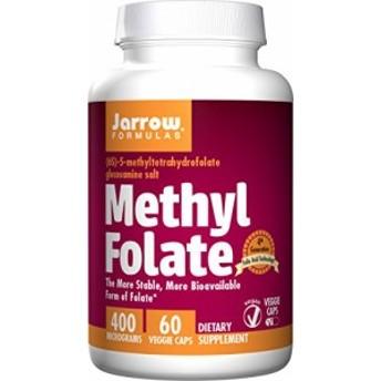 海外直送品 Jarrow Formulas Methyl Folate 60 Caps 400 mcg