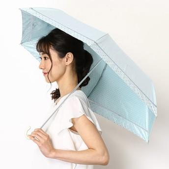 [マルイ]【セール】【晴雨兼用日傘・UV日傘・軽量・遮光・遮熱・ミニ傘・無地・ドット柄・バックプリント】折りたたみ日傘/ウィズ(WIZ)