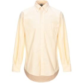 《期間限定セール開催中!》BROOKS BROTHERS メンズ シャツ ライトイエロー 15 スーピマ 100%
