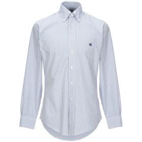 《期間限定セール開催中!》BROOKS BROTHERS メンズ シャツ グレー S スーピマ 100%
