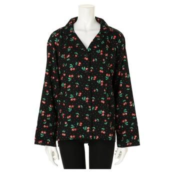 フィグ アンド ヴァイパー FIG & VIPER CherryパイピングBIGシャツ (ブラック)