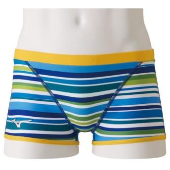 MIZUNO SHOP [ミズノ公式オンラインショップ] 競泳練習用【Rikako Ikee Collection】ショートスパッツ[メンズ] 27 ブルー N2MB9560