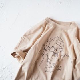 James TEE ベージュ(Tシャツ)