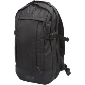 《期間限定 セール開催中》EASTPAK Unisex バックパック&ヒップバッグ ブラック 紡績繊維 / 柔らかめの牛革