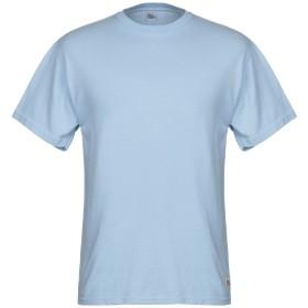 《期間限定 セール開催中》RO ROGER'S メンズ T シャツ スカイブルー M コットン 100%
