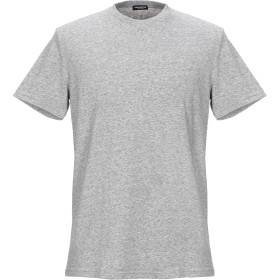 《期間限定セール開催中!》DSQUARED2 メンズ アンダーTシャツ ライトグレー XS コットン 95% / ポリウレタン 5%