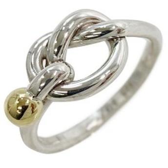 ティファニー 指輪 ラブノット リング シルバー ゴールド 金 新品 仕上げ済み 925 K18 750 K18YG TIFFANY&Co. |
