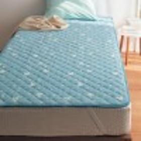 綿100%ソフトパイルの敷きパッド