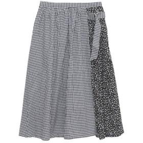[マルイ] クレイジーパターンロング丈スカート/ハッピーマリリン(大きいサイズ)(AHAPPYMARILYN)