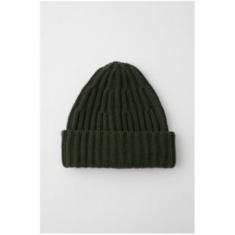 MOUSSY リブニット帽 レディース