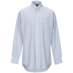 《期間限定セール開催中!》BROOKS BROTHERS メンズ シャツ グリーン 16 スーピマ 100%