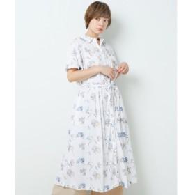 [マルイ]【セール】開襟アロハシャツワンピース/ダブルネーム(DOUBLE NAME)