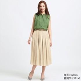 ギャザーロングスカート(丈短め76~80cm)