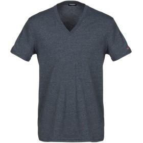 《期間限定セール開催中!》DSQUARED2 メンズ アンダーTシャツ ブルーグレー XS コットン 95% / ポリウレタン 5%