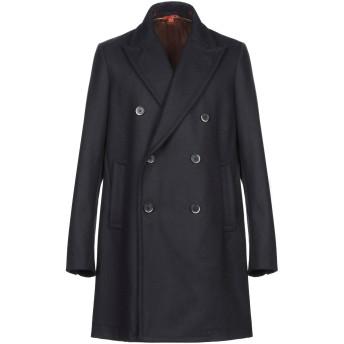 《9/20まで! 限定セール開催中》BARENA メンズ コート ダークブルー 48 ウール 80% / ナイロン 20%