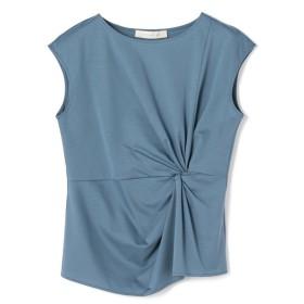 ESTNATION / ツイストデザインカットソー ブルー/38(エストネーション)◆レディース Tシャツ/カットソー