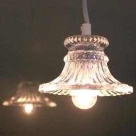 照明 ペンダントライト 1灯 ガラス LED対応 ボーテ Clear ( ライト 照明器具 天井 ペンダント おしゃれ 天井照明 リビング用 ダイニング
