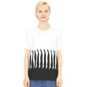 [マルイ] 【ユニセックス】コラボレーションTシャツ/レッグス(福田繁雄)/グラニフ(graniph)