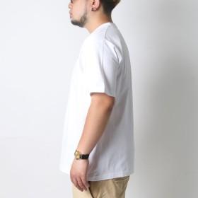 Tシャツ - MARUKAWA コンバース Tシャツ 大きいサイズ メンズ 夏 無地 ワンポイント ホワイト/グレー/ブラック/レッド/ネイビー2L/3L/4L/5L【ブランド 刺繍】