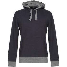 《期間限定セール開催中!》ALPHA STUDIO メンズ スウェットシャツ ダークブルー 46 コットン 85% / ポリエステル 15%