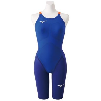 MIZUNO SHOP [ミズノ公式オンラインショップ] 競泳用GX・SONIC IV ST ハーフスーツ[ジュニア] 27 ブルー N2MG9201_j