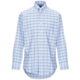 《期間限定セール開催中!》BROOKS BROTHERS メンズ シャツ ブルー 15 スーピマ 100%