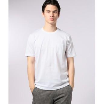 EDIFICE シルケットテンジク クルーネック Tシャツ ホワイト XL