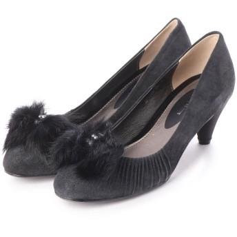 シューズラウンジ shoes lounge パンプス 52MOD5034BLA (ブラック)