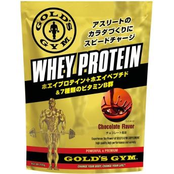 GOLD'SGYM ゴールドジム ホエイプロテイン スピードチャージ チョコレート風味 720g