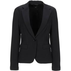 《期間限定セール開催中!》TWELVE-T レディース テーラードジャケット ブラック 44 ポリエステル 97% / ポリウレタン 3%