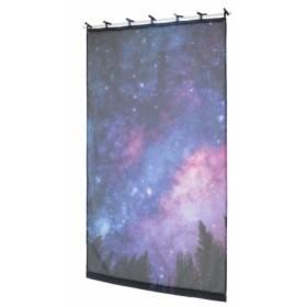 デジタルプリントカーテン ナイトスカイ 105×178cm 14119871120