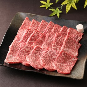 【お歳暮】まるたけ阪本 国内産黒毛和牛モモ焼肉用 WMY-50 _冬ギフト