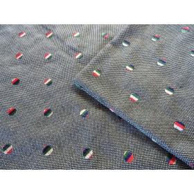 (オーストリア製)刺繍ウール生地