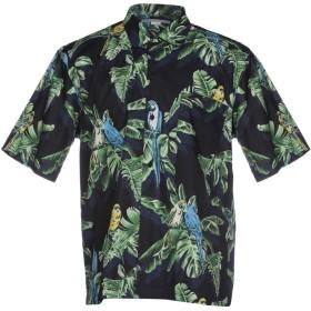 《期間限定セール開催中!》STELLA McCARTNEY MEN メンズ シャツ ダークブルー 41 コットン 100%